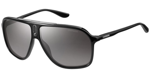 Carrera CARRERA 6016/S D28/IC GREY MS SLVSHN BLACK (GREY MS SLV)