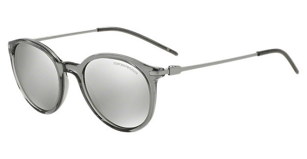 Emporio Armani EA4050 53826G LIGHT GREY MIRROR SILVERTRANSPARENT GREY