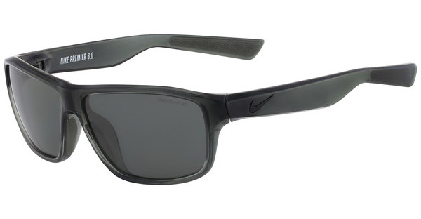 Nike NIKE PREMIER 6.0 P EV0790 016 CRYSTAL MERCURY GREY/MATTE BLACK WITH POLARIZED GREY LENS Polarized LENS
