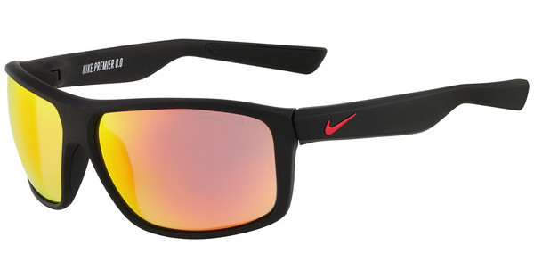 Nike NIKE PREMIER 8.0 R EV0794 065 MATTE BLACK/GYM RED WITH GREY W/ML RED FLASH LENS LENS