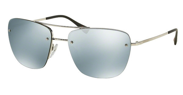 Prada Sport PS 52RS 1BC5K2 GREEN MIRROR SILVERSILVER