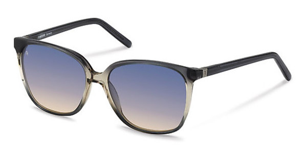 Rodenstock R3277 C sun protect - black camel - 80/30%grey gradient