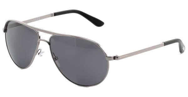 Tom Ford FT0144 14D grau polar.ruthenium hell glanz