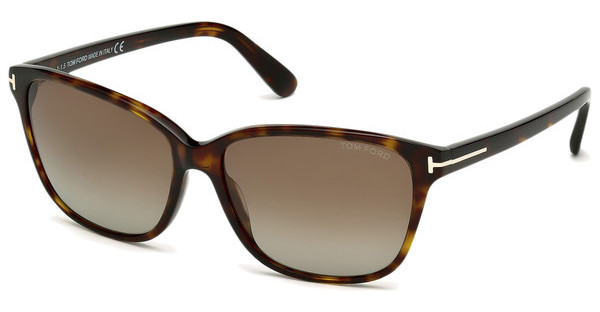 Tom Ford FT0432 52H braun polarisierendhavanna dunkel