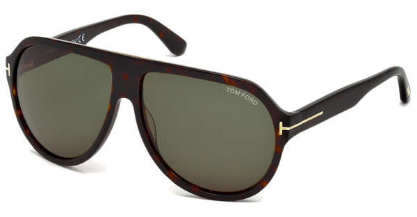 Tom Ford FT0464 52N grünhavanna dunkel