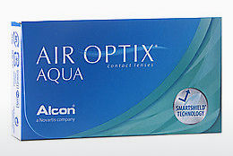 Soczewki kontaktowe Alcon AIR OPTIX AQUA (AIR OPTIX AQUA AOA3)