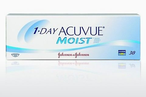 Soczewki kontaktowe Johnson & Johnson 1 DAY ACUVUE MOIST 1DM-90P-REV