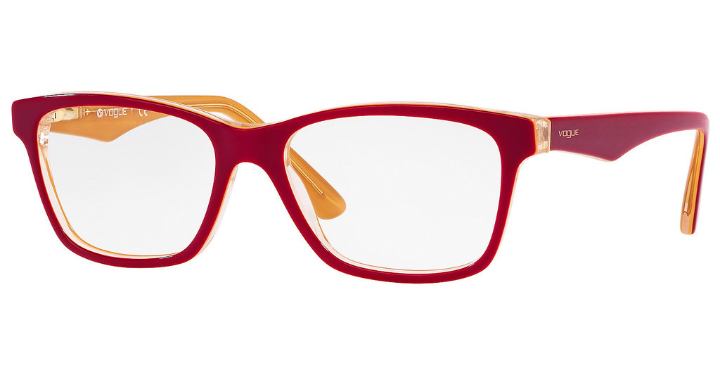 Vogue   VO2787 2772 BORDEAUX/YELLOW/TRANSPARENT