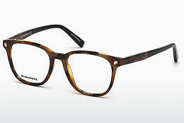 Okulary od projektantów. Dsquared DQ5228 053 - Havanna, Yellow, Blond, Brown