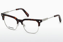 Okulary od projektantów. Dsquared DQ5243 054 - Havanna, Red