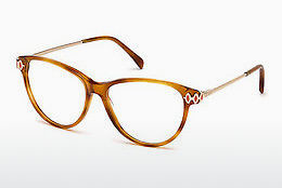 Okulary od projektantów. Emilio Pucci EP5055 053 - Havanna, Yellow, Blond, Brown