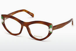 Okulary od projektantów. Emilio Pucci EP5065 053 - Havanna, Yellow, Blond, Brown