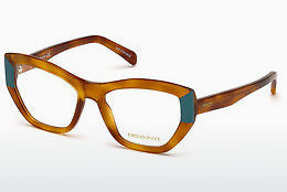 Okulary od projektantów. Emilio Pucci EP5066 053 - Havanna, Yellow, Blond, Brown