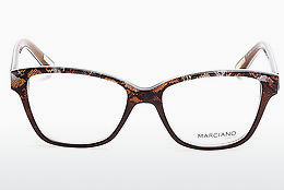 Okulary od projektantów. Guess by Marciano GM0280 047 - Brązowe, Bright