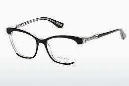 Okulary od projektantów. Guess by Marciano GM0287 003 - Czarne, Transparent