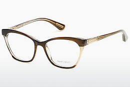 Okulary od projektantów. Guess by Marciano GM0287 047 - Brązowe, Bright