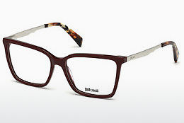 Okulary od projektantów. Just Cavalli JC0813 069 - Burgund, Bordeaux, Shiny