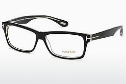 Okulary od projektantów. Tom Ford FT5146 003 - Czarne, Transparent