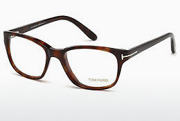 Okulary od projektantów. Tom Ford FT5196 052 - Brązowe, Dark, Havana