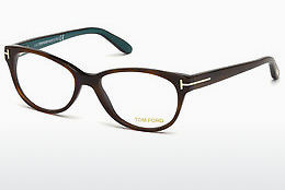 Okulary od projektantów. Tom Ford FT5292 052 - Brązowe, Dark, Havana