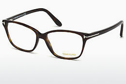 Okulary od projektantów. Tom Ford FT5293 052 - Brązowe, Dark, Havana