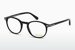 Okulary od projektantów. Tom Ford FT5294 52A - Brązowe, Dark, Havana