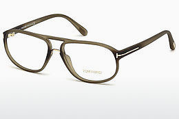 Okulary od projektantów. Tom Ford FT5296 046 - Brązowe, Bright, Matt