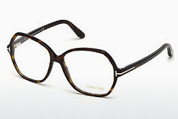 Okulary od projektantów. Tom Ford FT5300 052 - Brązowe, Dark, Havana