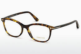 Okulary od projektantów. Tom Ford FT5388 052 - Brązowe, Dark, Havana