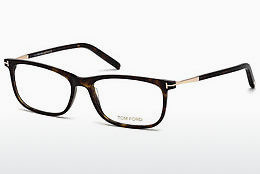 Okulary od projektantów. Tom Ford FT5398 052 - Brązowe, Dark, Havana