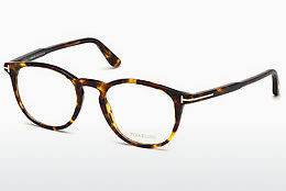 Okulary od projektantów. Tom Ford FT5401 52A - Brązowe, Dark, Havana