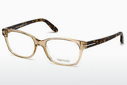 Okulary od projektantów. Tom Ford FT5406 045 - Brązowe, Bright, Shiny