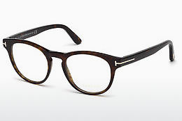 Okulary od projektantów. Tom Ford FT5426 052 - Brązowe, Dark, Havana