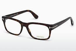 Okulary od projektantów. Tom Ford FT5432 052 - Brązowe, Dark, Havana