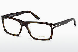 Okulary od projektantów. Tom Ford FT5434 052 - Brązowe, Dark, Havana