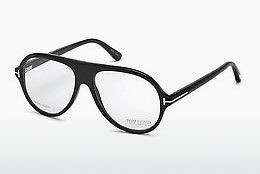 Okulary od projektantów. Tom Ford FT5437-P 63A - Brązowe, Ivory, Black