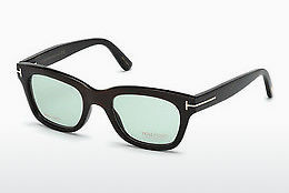 Okulary od projektantów. Tom Ford FT5439-P 63N - Brązowe, Ivory, Black