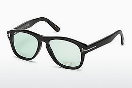 Okulary od projektantów. Tom Ford FT5440-P 63N - Brązowe, Ivory, Black