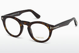 Okulary od projektantów. Tom Ford FT5459 052 - Brązowe, Dark, Havana