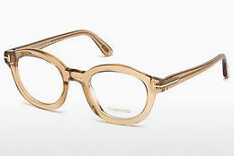 Okulary od projektantów. Tom Ford FT5460 045 - Brązowe, Bright, Shiny