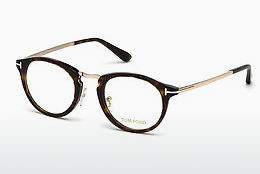 Okulary od projektantów. Tom Ford FT5467 052 - Brązowe, Dark, Havana