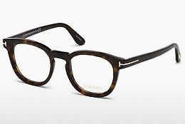 Okulary od projektantów. Tom Ford FT5469 052 - Brązowe, Dark, Havana