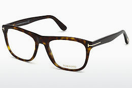 Okulary od projektantów. Tom Ford FT5480 052 - Brązowe, Dark, Havana