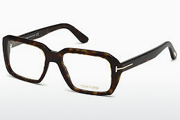 Okulary od projektantów. Tom Ford FT5486 052 - Brązowe, Dark, Havana