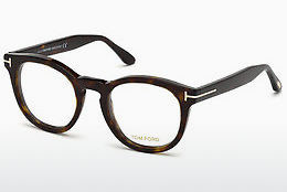 Okulary od projektantów. Tom Ford FT5489 052 - Brązowe, Dark, Havana