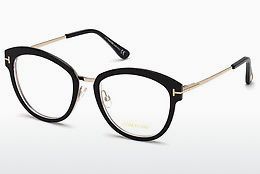 Okulary od projektantów. Tom Ford FT5508 003 - Czarne, Transparent