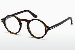 Okulary od projektantów. Tom Ford FT5526 052 - Brązowe, Dark, Havana
