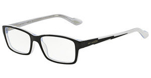 Arnette AN7034 1007 TOP BLACK ON WHITE-CRYSTAL