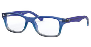 Ray-Ban Junior RY1531 3647 BLUE GRADIENT IRIDESCENT GREY