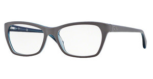Ray-Ban RX5298 5389 TOP MATTE GREY ON TRASP OIL